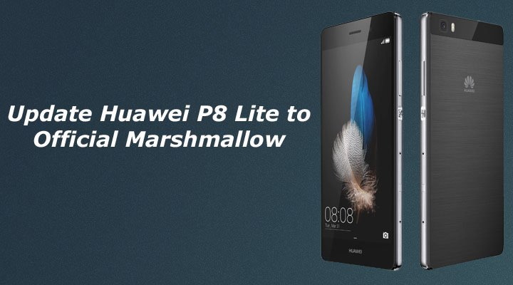 Huawei manual update