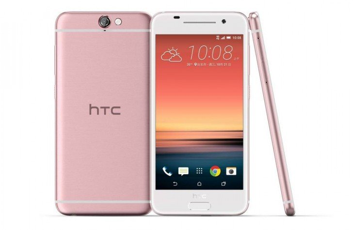 HTC One A9 will get a Pink Colored variant