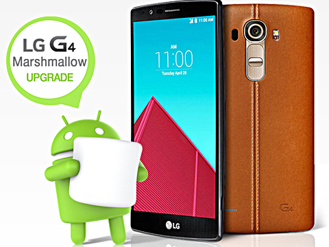 LG G4 receiving Marshmallow update in Canada