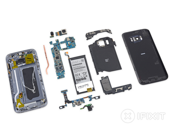 Samsung phones harder to repair, iFixit tears down S7