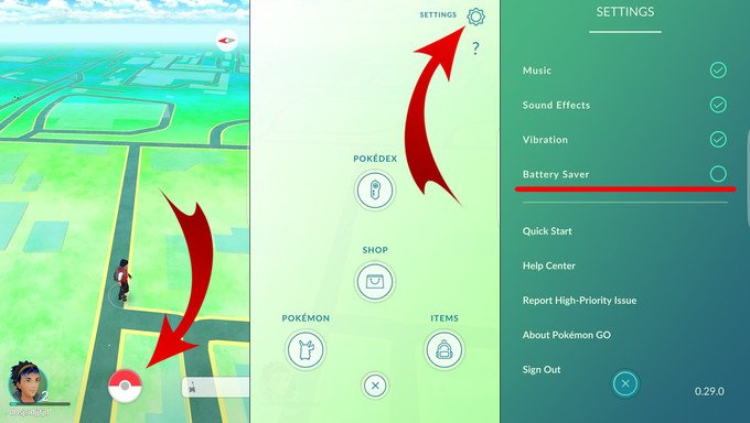 Pokemon Go Playing Tips - Battery Saver