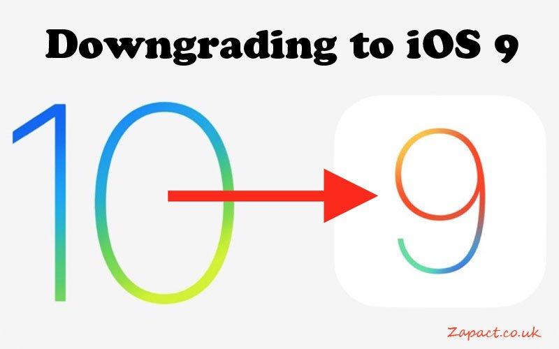Downgrading iOS9