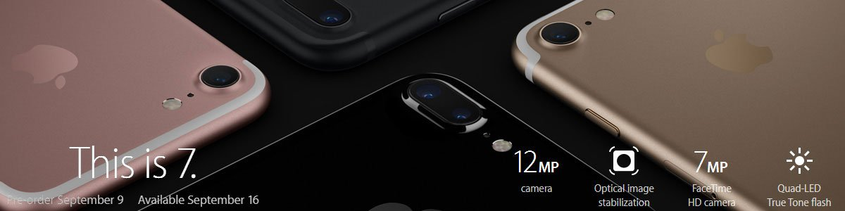 iPhone 7 banner