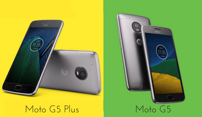 Moto G5 vs. Moto G5 Plus: Know the difference