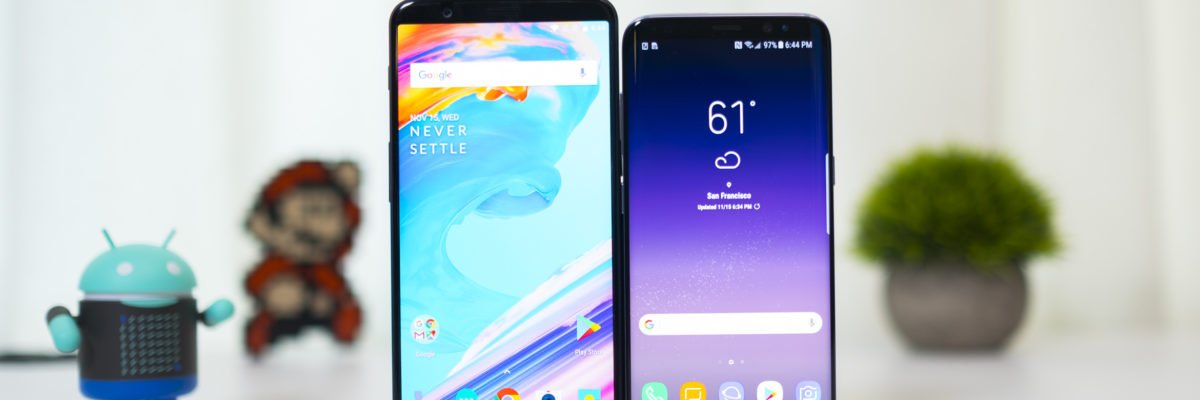 OnePlus 5T vs. Galaxy S8